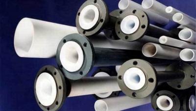 Металлические трубы с футеровкой фторопластом